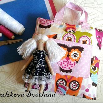 Развивающая сумка-домик для девочки