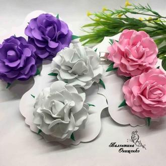 Розы из фоамирана / цветы из фоамирана розы