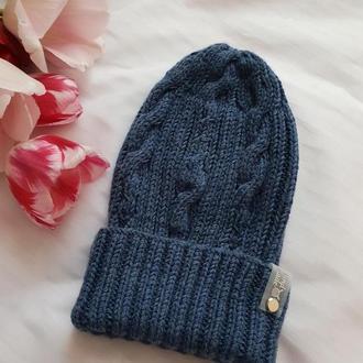 Мериносовая шапка
