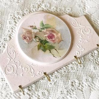 Ключниця-вішалка Троянди