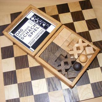 Шахматы Bauhaus. Конструктивизм.