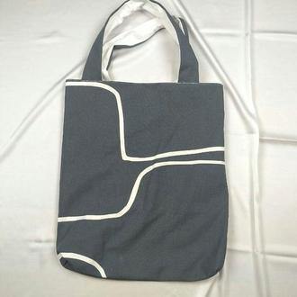 Экосумка минимализм, шоппер, екосумка київ, эко-сумка хлопковая киев, авоська, шоппер