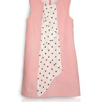 """Летнее платье для девочки """"Розовое настроение"""""""