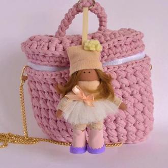 Брелок женский подарок для нее Украшение на сумку, ключи Автомобильный брелок