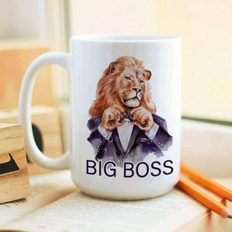 Большая кружка Big Boss
