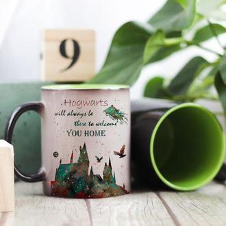 Магическая чашка Гарри Поттер