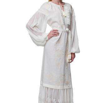 Сукня вишиванка Мольфарка молочна