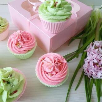 🧁🧁🧁 Пенные бомбочки КЕКСИКИ С КРЕМОМ - Полезный десерт для кожи