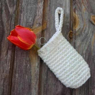 Мочалка-мешочек (саше)