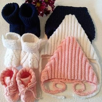 Вязание для новорожденных