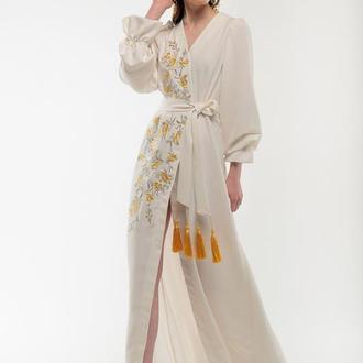Сукня вишиванка Лебідка