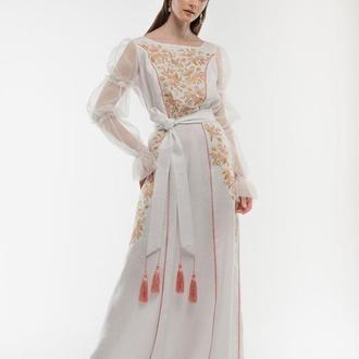 Сукня вишита Лелійка
