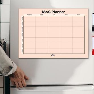 Магнитный планер меню «Минимал Персик», А3, 42х30 см, Plans Come True
