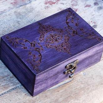 "Скринька для карт Таро ""Violet"""
