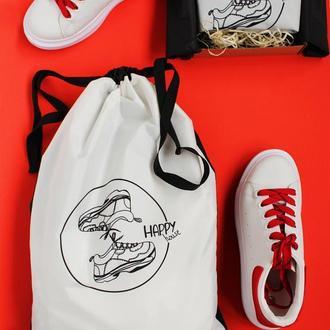Мешочек для спортивных кроссовок, мешочки для спортивной одежды, корпоративные подарки