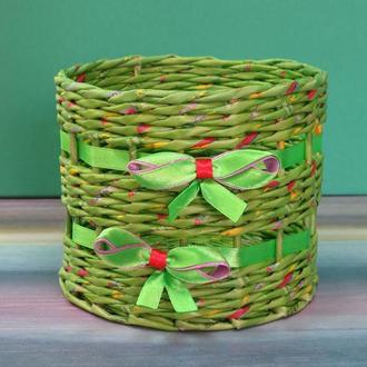Подставка (корзина) плетеная