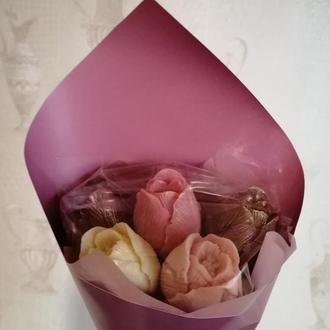 Шоколадные тюльпаны большие