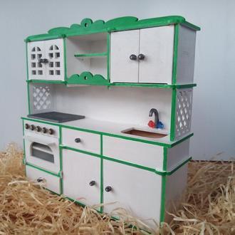 Кухня для барби. Кукольная мебель. Мебель для кукол барби