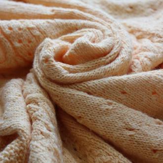 Вязанный детский плед\одеяло