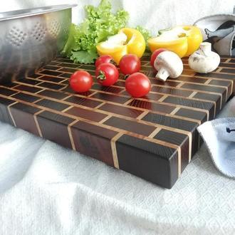 Кухонна дошка Торцева дошка Кухонная доска Торцевая доска