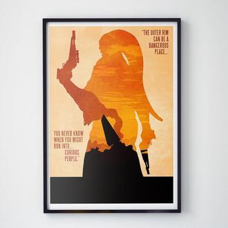 Постер Star Wars (Звездные Войны)
