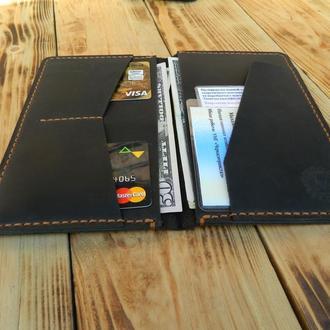 Портмоне для документов, паспорта и денег