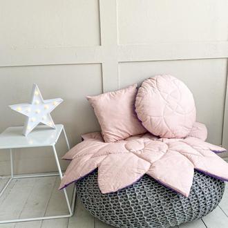 Коврик-цветок + 2 подушки