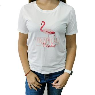 """Женская футболка с принтом """"Tropical Paradise"""" Push IT"""