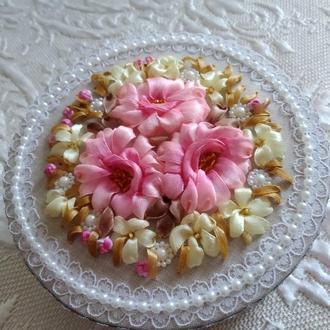 """Шкатулка """"Аромат чайной розы"""""""