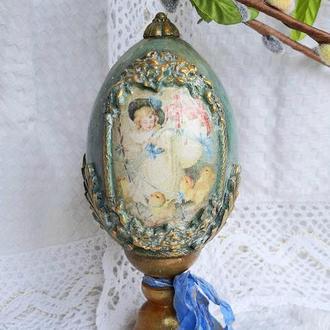 Пасхальное декоративное яйцо