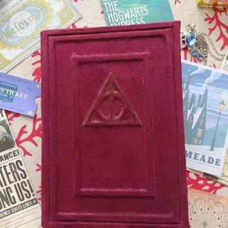 Блокнот Гарри Поттера с тиснением