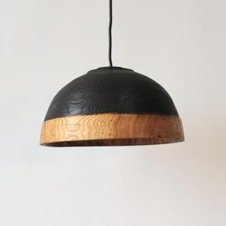 Стильна люстра з дерева