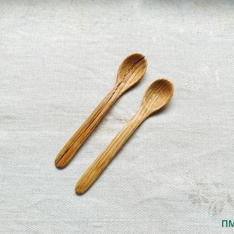 """Деревянная посуда. Ложка из дерева маленькая """" Ф -2 Ясень""""."""