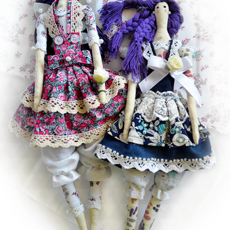 Кукла фея-тильда
