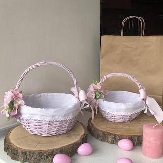 Набор Пасхальных корзин мама-дочка