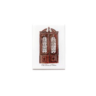 Магнитик «Одесские двери» (Коричневые)