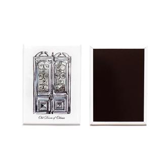 Магнитик «Одесские двери» (Серые)