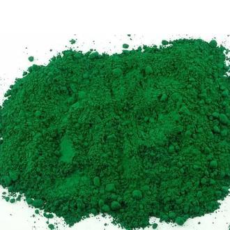 Сухой пигмент зеленый 1 кг