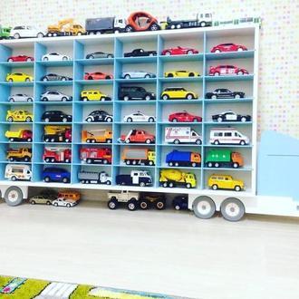 Полка-гараж для машинок