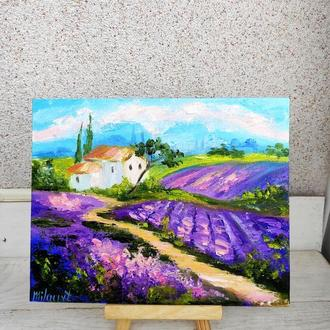 Картина Прованс, картина масло, холст
