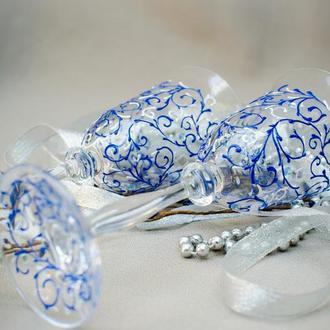 Свадебные бокалы ′Sapphirine′