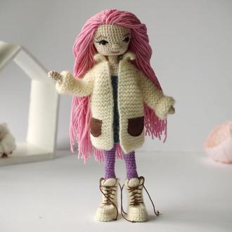 Авторская кукла крючком / Вязаная кукла, амигуруми