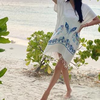 Пляжное платье, летнее платье, легкое платье
