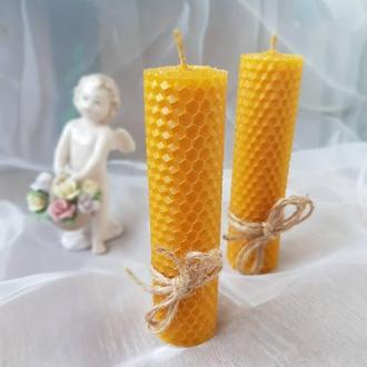 Свечи из медовой вощины
