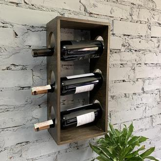 Поличка для зберігання вина