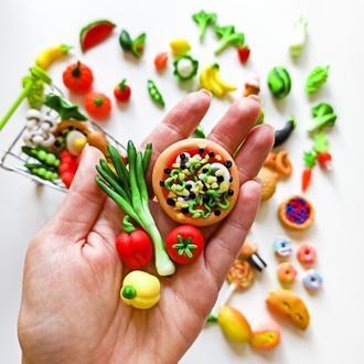 Мініатюрна їжа для іграшок