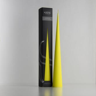 Свеча Shine Collection, цвет Bright Yellow