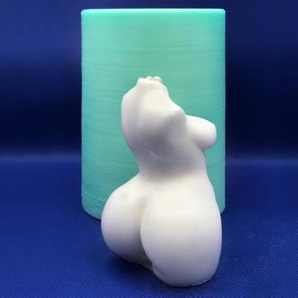 Форма (молд, молды) для свечи и мыла женское тело