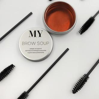 Фиксирующее мыло для бровей; BROW SOUP