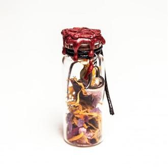 Оберег ведьмина бутылка для привлечения любви